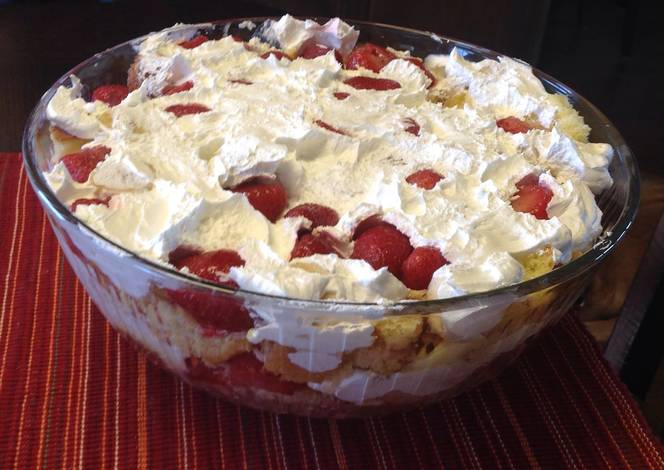 Strawberry Punch Bowl Cake Mix Recipe