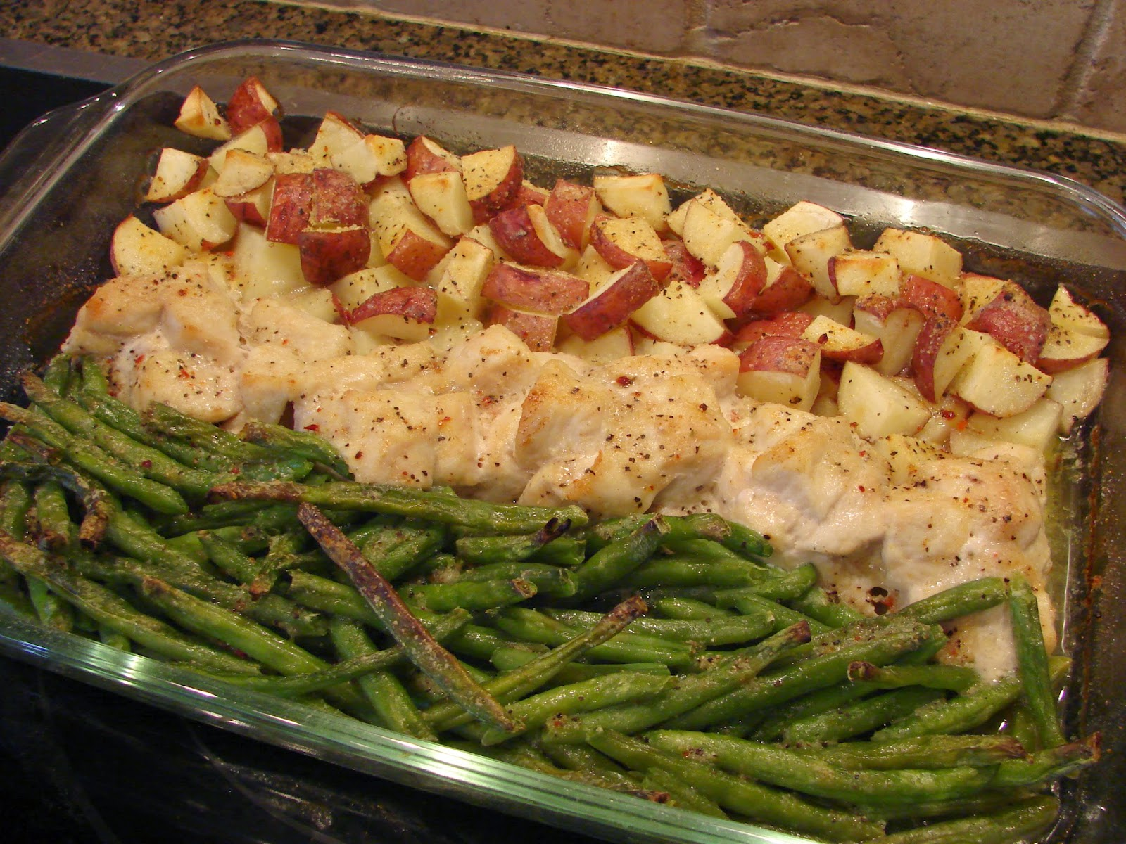One Pan Dinner Chicken Potatoes and Greens | 78recipes