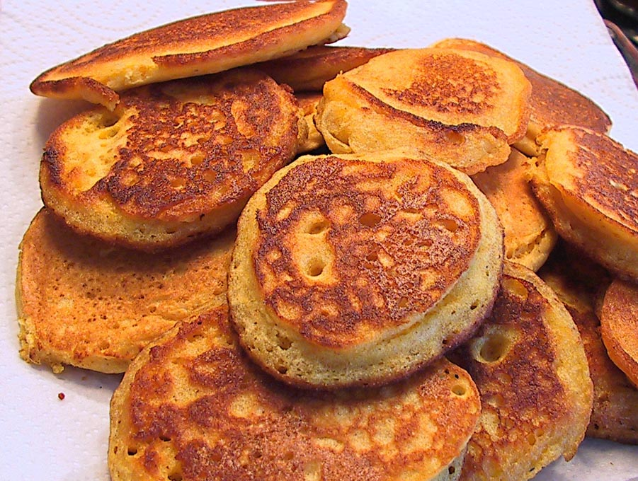 How To Make Fried Cornbread Cakes