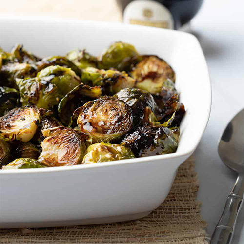Delicious Balsamic Brussels Sprouts