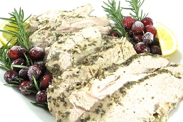 Crock Pot Rosemary Turkey Breasts, Tender and Juicy