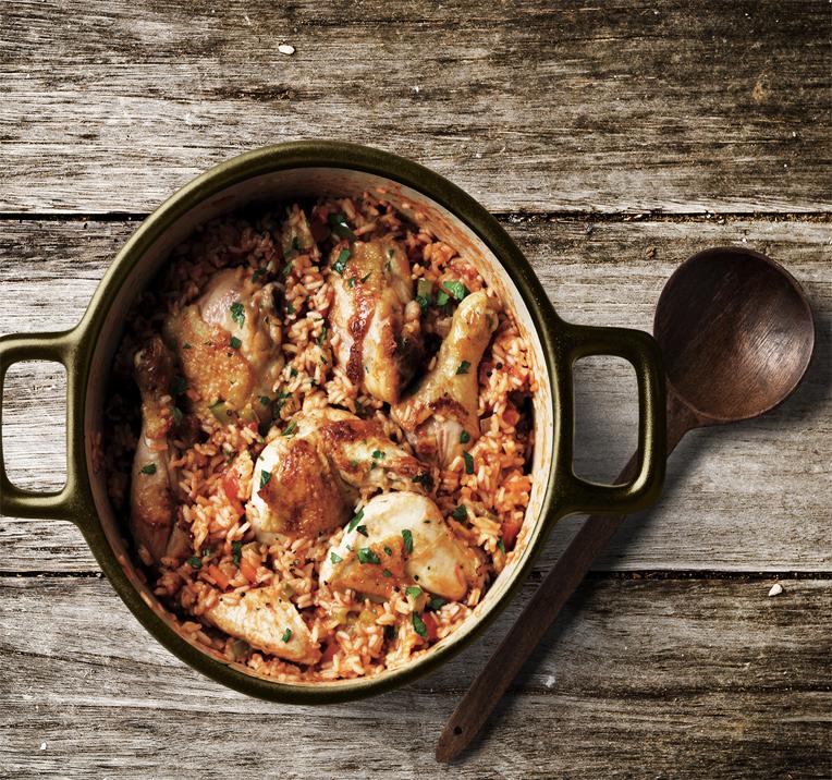Parmesan Chicken Rice