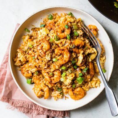 Shrimp Fried Rice Made Skinny