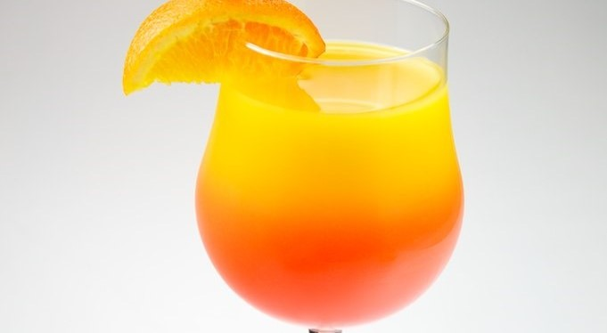 Sunrise Pineapple-Orange Mimosa