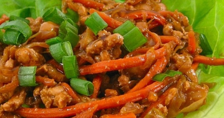 Low Carb Mu Shu Lettuce Wraps