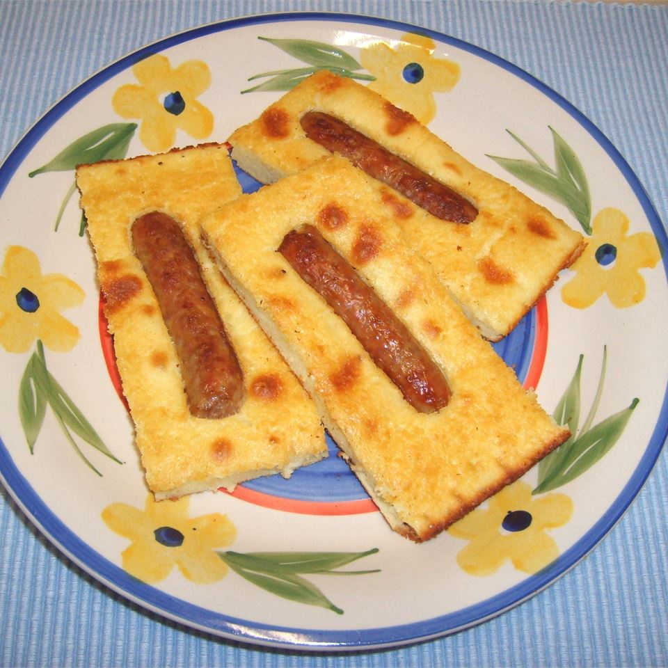 ONE DISH BAKED PANCAKES AND SAUSAGE