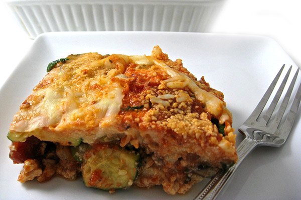 Skinny Lasagna, Fabulous and Noodle free