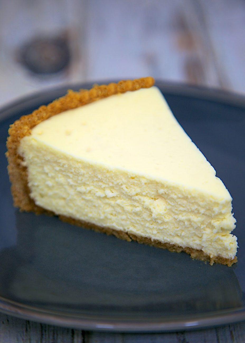 The Best Homemade Cheesecake