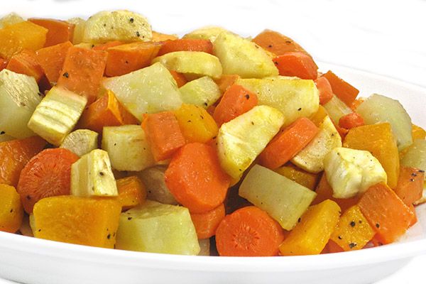 A Delicious Variety of Fall Roasted Vegetables