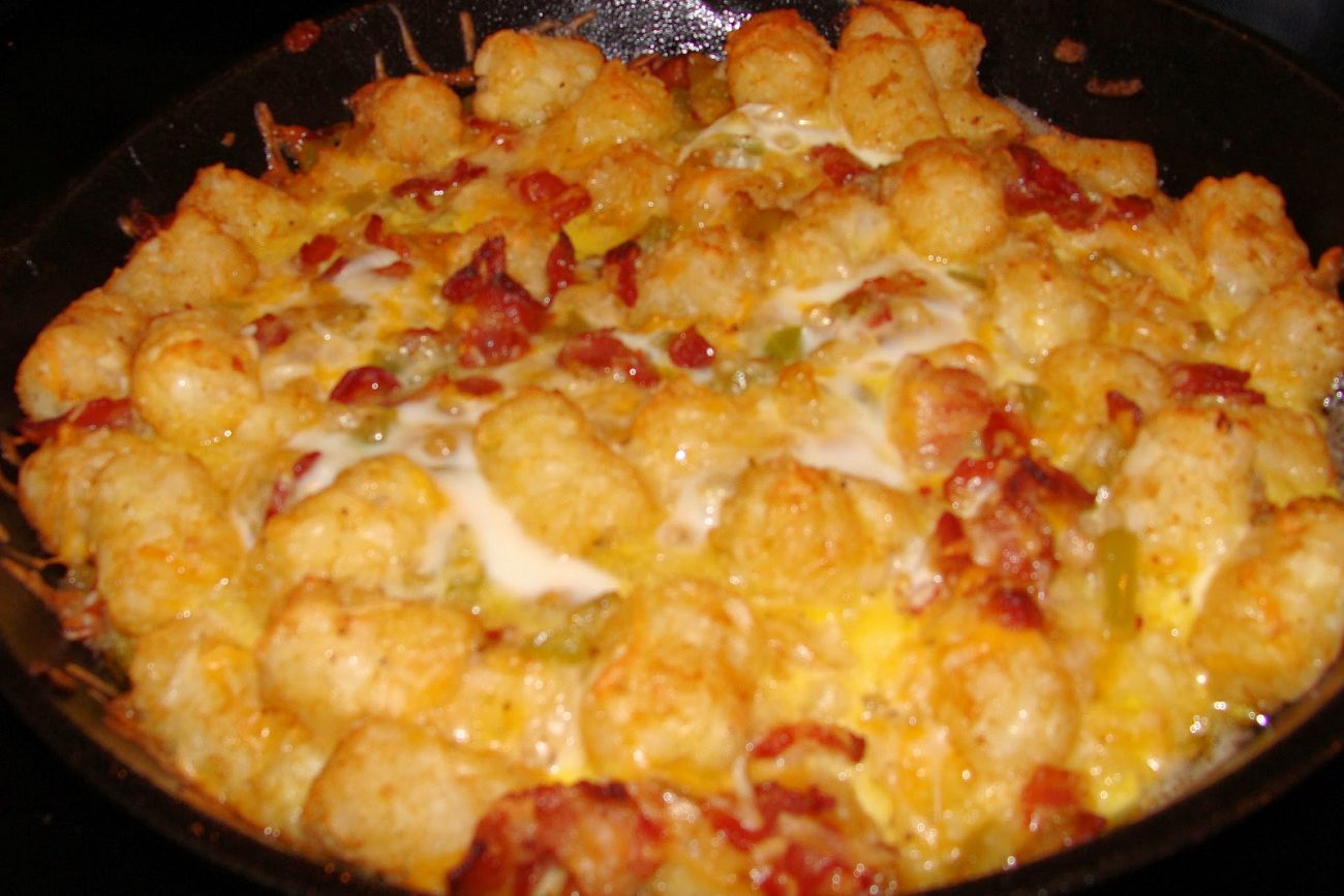 Egg and Tater Tot Casserole