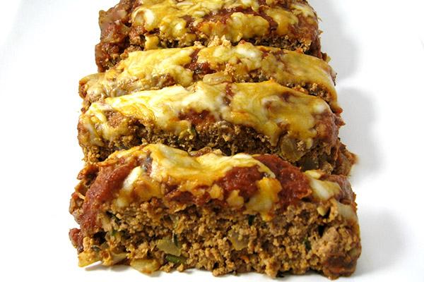 Skinny Pizza Meatloaf