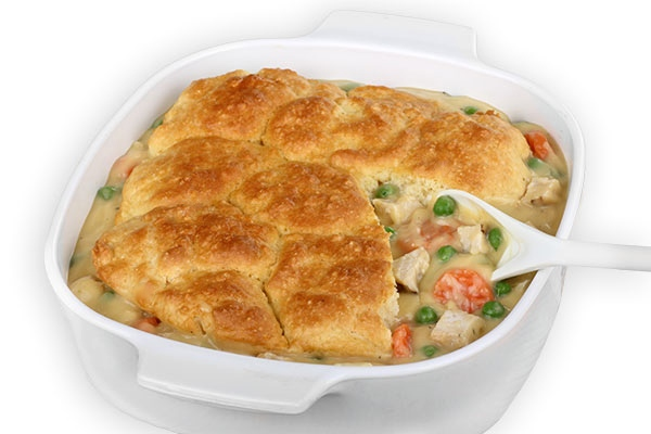 Chicken Pot Pie, Skinny fied