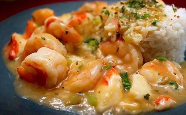 Shrimp and Crabmeat Etouffee