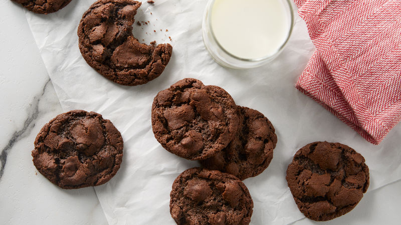 Skinny Double Chocolate Oatmeal Chippers Gluten Free