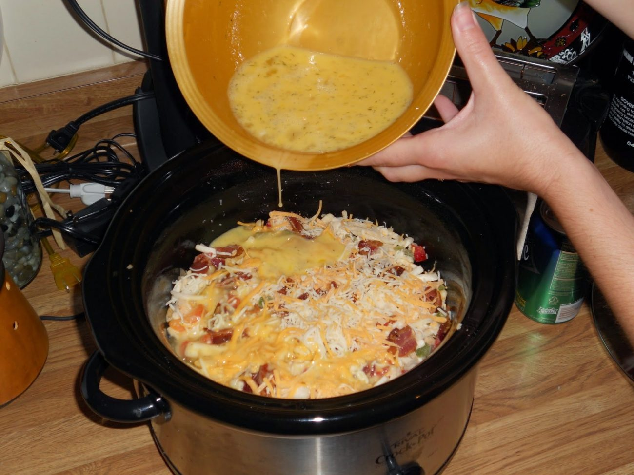 Breakfast Casserole in the Crockpot