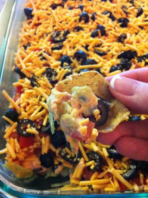 Dr. Oz's 7 Layer Fat Fighting Dip