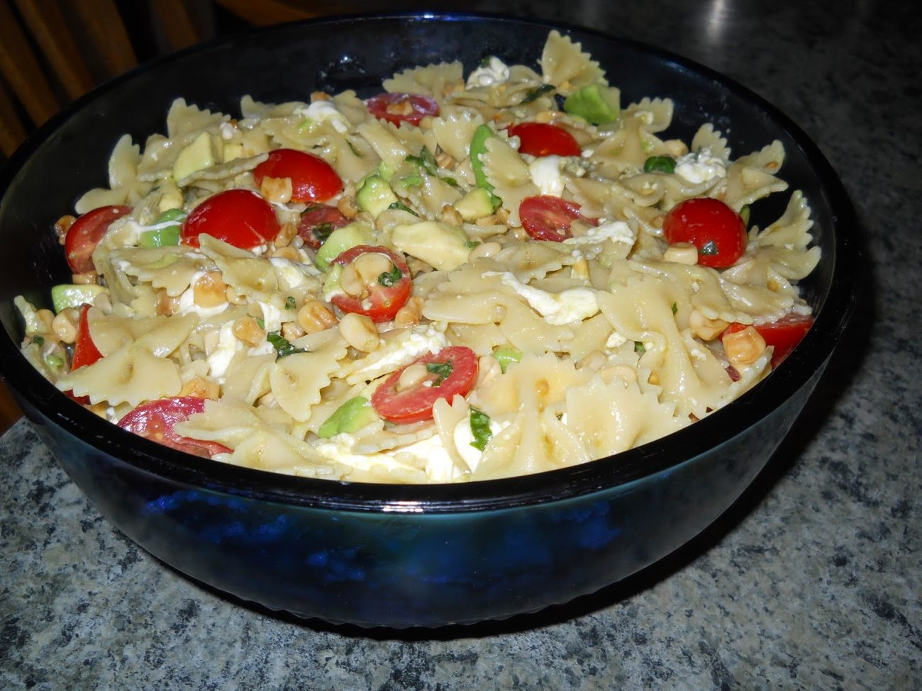Fresh Lemony Pasta Salad