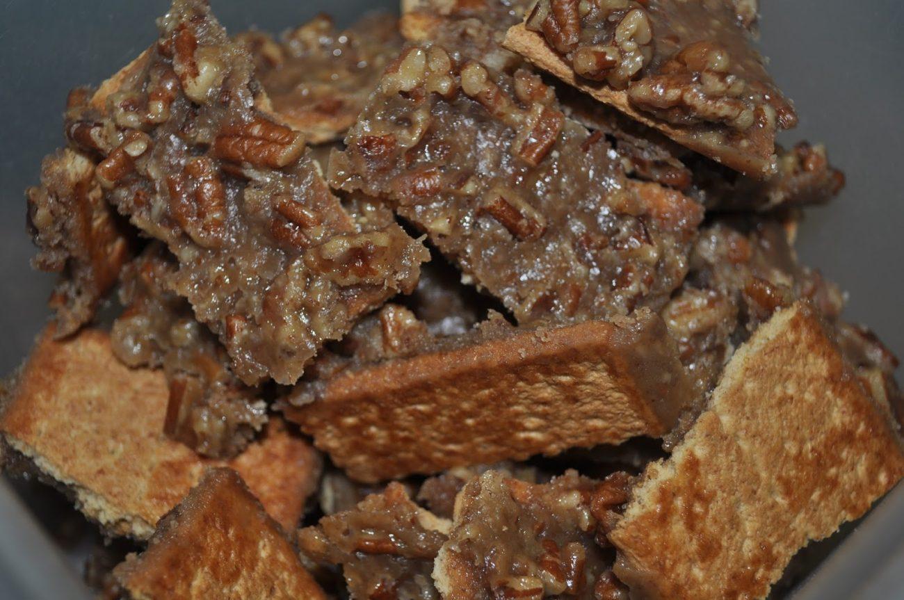 Pecan Pie Bark
