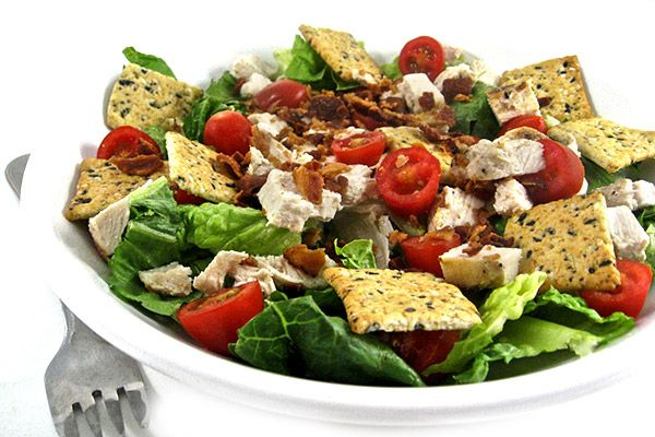 Skinny Chicken Caesar BLT, Main Course Salad